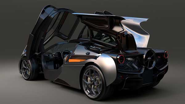Gordon Murray T.50: A Naturally-Aspirated V12 Supercar Weighing In At Just Over 980Kg