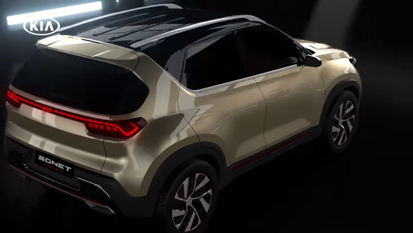 Kia Sonet Exterior & Interior Sketches Officially Revealed Ahead Of Global Premiere: Details