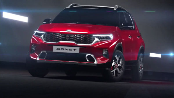 Kia Sonet Mid-Spec Variant SUV Spotted Ahead Of Launch: Spy Pics & Details