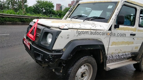 Next Generation Force Gurkha Spotted Testing In India Without Wraps