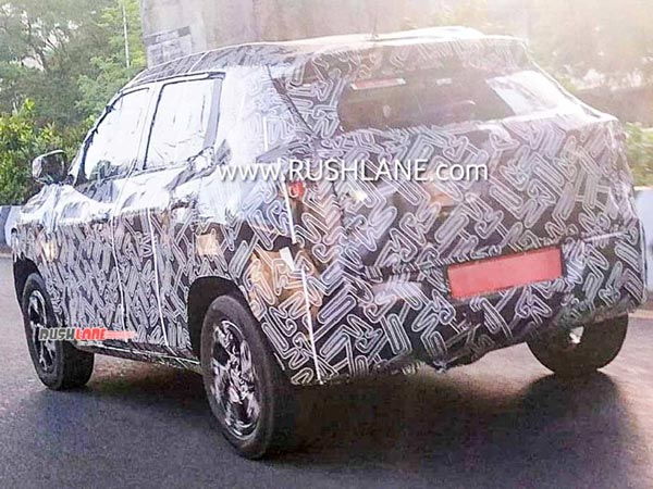Spy Pics: Nissan Magnite Production Ready Model Spotted Testing Revealing New Features