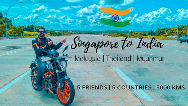5 Friends, 5 Borders, 5,000 Kilometers & Unlimited Experiences: Great Independence Day Ride Series