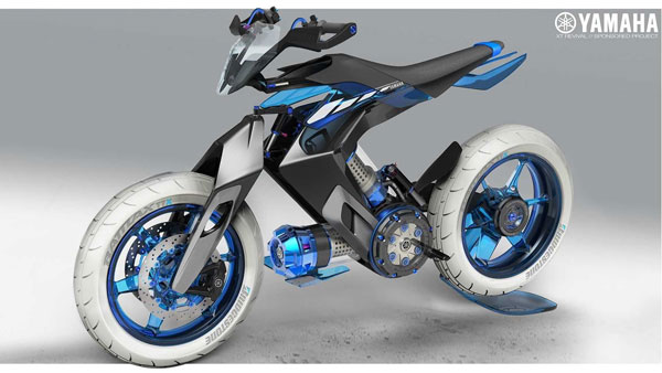 Yamaha XT 500 H2O Concept Motorcycle Revealed: Powered By Water!