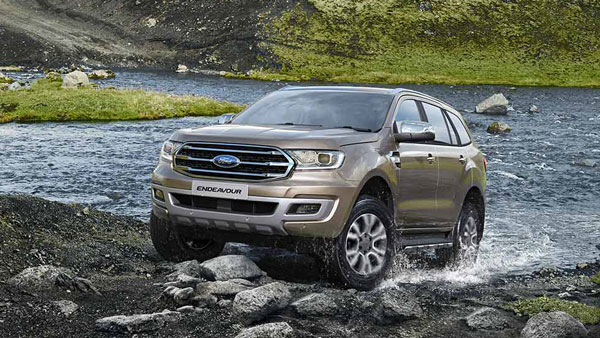 Ford Endeavour Sport Edition Spy Pics: New Variant Spotted Testing Ahead Of Launch