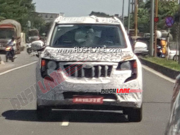 Spy Pics: New Mahindra XUV500 SUV Spotted Testing Revealing Few Features