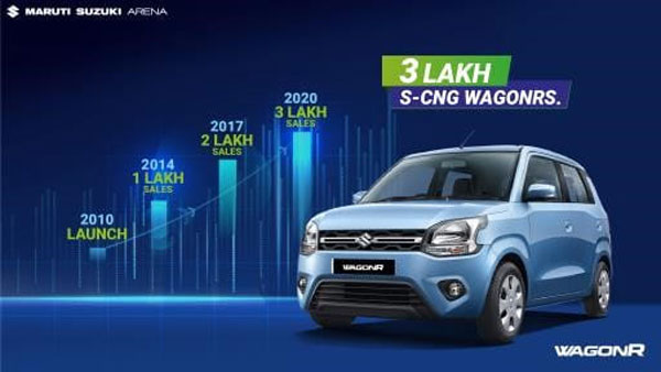 Maruti Suzuki WagonR CNG Production Crosses 3 Lakh Unit Mark: New Milestone Achieved