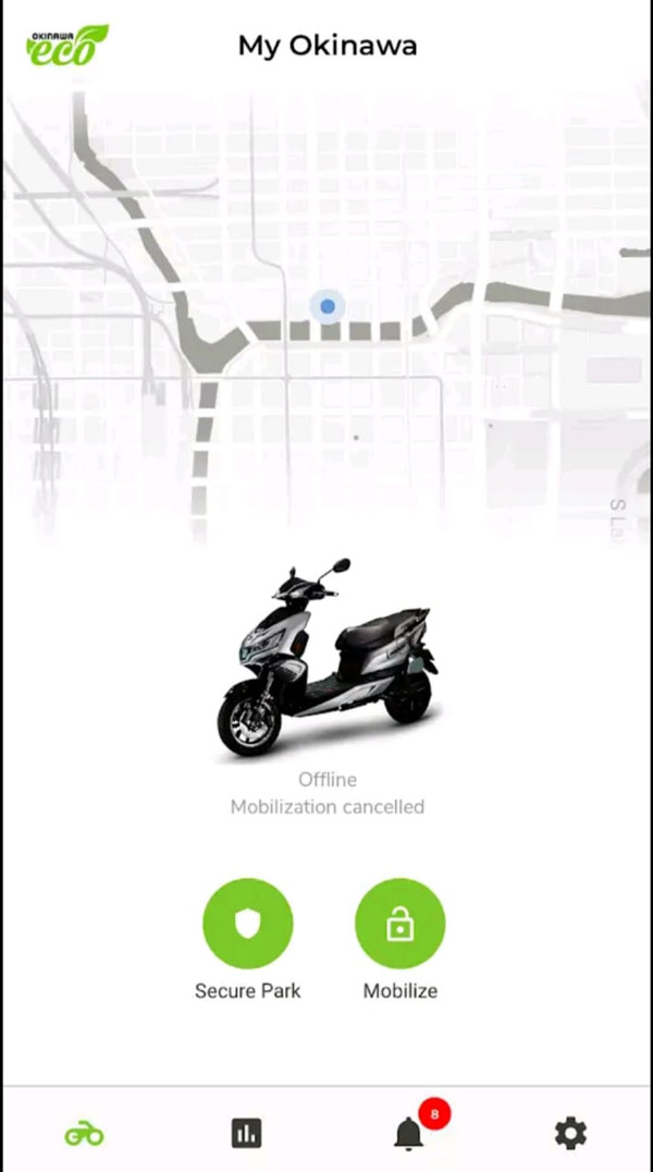 Okinawa Mobile App Launched In India For Connected Scooters: Remote Immobilizer Features & Other Details