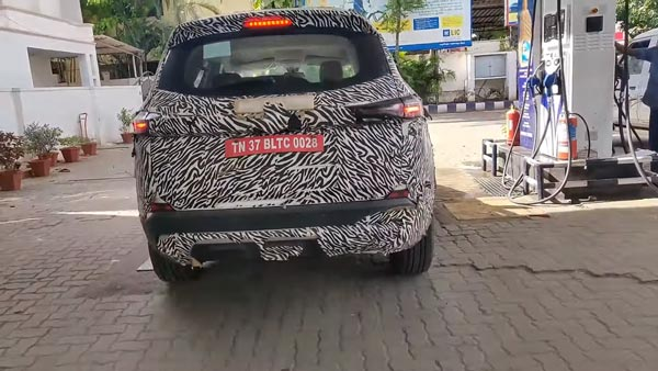 Spy Pics: Tata Gravitas Spotted Testing Again Revealing Interiors Ahead Of Launch