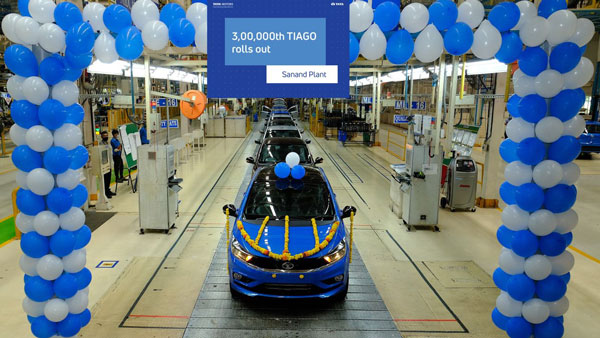Tata Tiago Production Crosses 3 Lakh Units: New Milestone Achieved