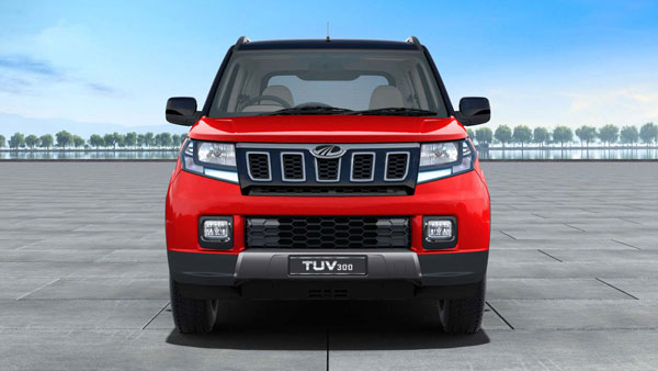 Spy Pics: Mahindra TUV300 BS6 Spotted Testing Revealing New Features Ahead Of Launch