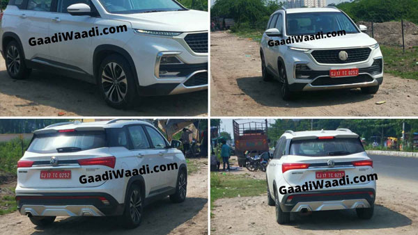 MG Hector Facelift Spotted Testing In Vadodara: Details & Specifications