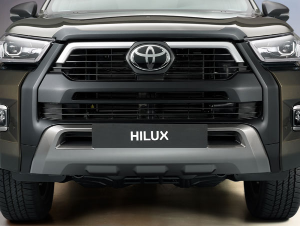 Spy Pics: Toyota Hilux Pick-Up SUV Spotted Arriving In India
