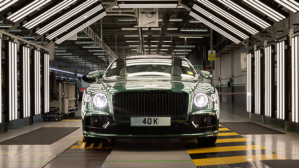Bentley Flying Spur Production Crosses 40,000 Units Milestone Mark: Over 15 Years Of Presence