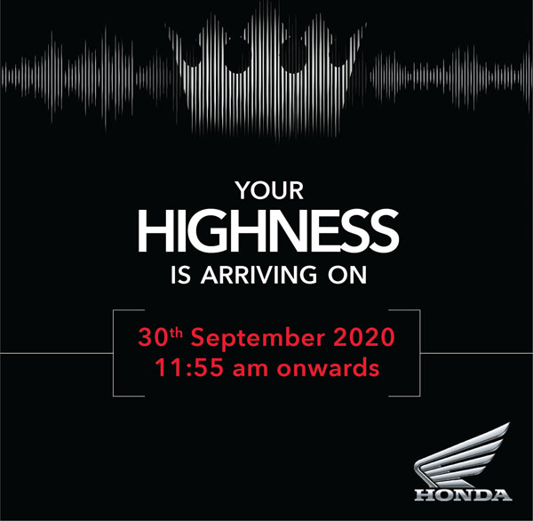 New Honda Bike Launch In India On 30th September: New Model Expected To Be A 300 - 500cc Segment Offering To Rival Royal Enfield