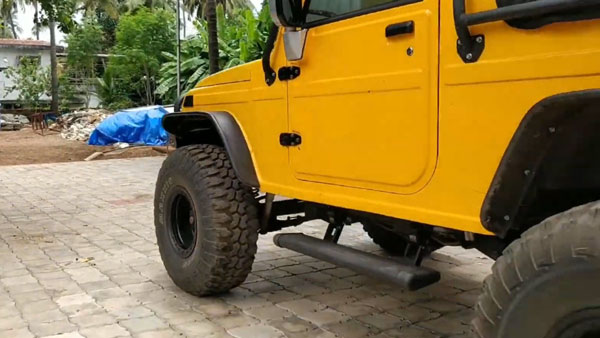 Mahindra Bolero Invader Modified With Lift Kit, Powered Foot-Steps, New Engine & More: Details