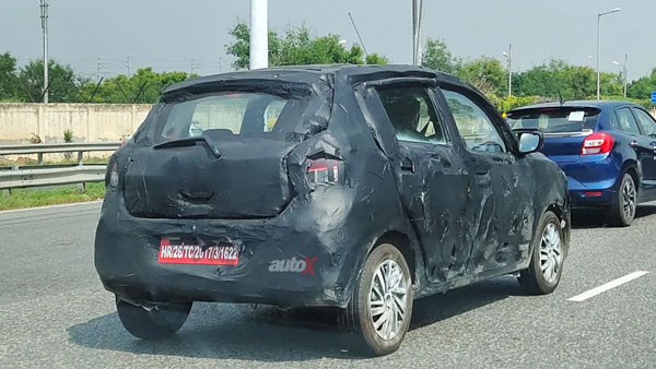 Spy Pics: New Maruti Suzuki Celerio Hatchback Spotted Testing Ahead Of Launch In India