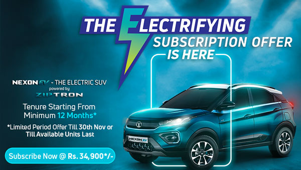 Tata Nexon EV Limited Time Subscription Offer Introduced During Festive Season