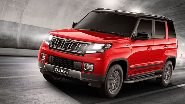 Spy Pics: Mahindra TUV300 BS6 Spotted Testing Again Ahead Of Launch