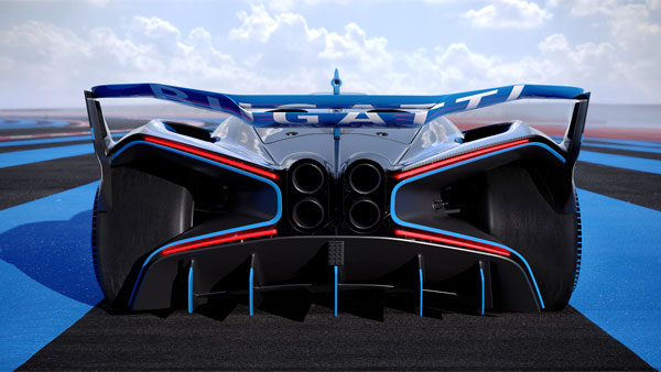Bugatti Bolide Track-Focused Hypercar Unveiled: 1825bhp Of Power From A 1240Kg Monster
