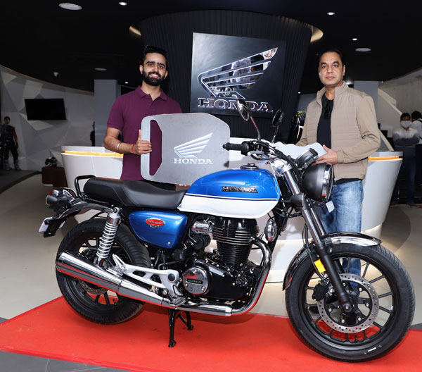 Honda H'ness CB 350 Bike Deliveries Begin Across India Via The Brand's Premium BigWing Dealerships