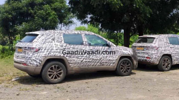 Seven-Seater Jeep Grand Compass Spotted Testing In India: Details & More