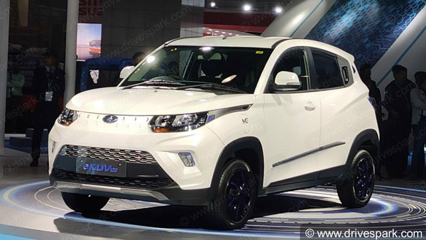 Mahindra eKUV100 Launch Timeline Officially Revealed: Three New Vehicles In Pipeline