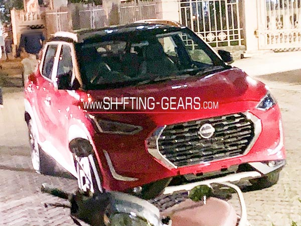 Spy Pics: Nissan Magnite Without Camouflage Spied Ahead Of Global Unveil Soon