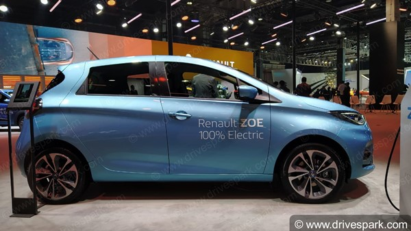 Spy Pics: Renault Zoe EV Spotted Testing Ahead Of India Launch