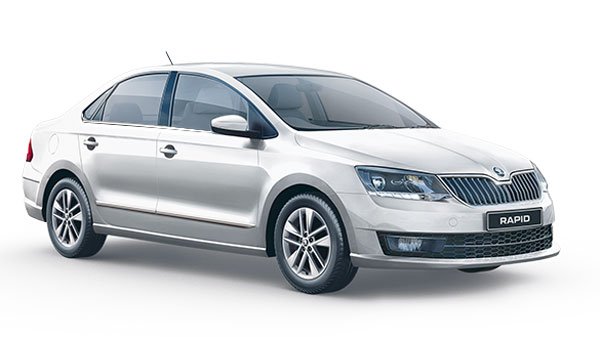 Spy Pics: Skoda Rapid CNG Spotted Testing For First Time Ahead Of Launch In India
