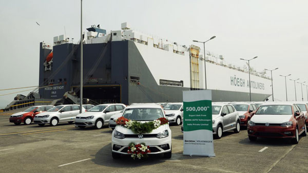Skoda Volkswagen Exports 500,000th Made In India Car: New Milestone Achieved