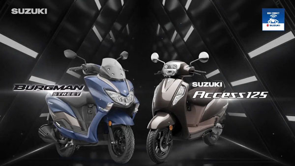 New Suzuki Burgman Street & Access 125 Introduced With Digital Console With Bluetooth Connectivity: Prices Start At Rs 77,700