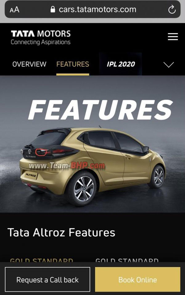 Tata Altroz Turbo Variant Appears On Official Website: Teased Ahead Of Expected Diwali Launch