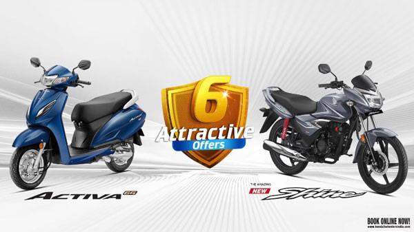 Honda Announces 'Super 6' Offers Ahead Of Festive Season: Discount On Activa 6G & CB Shine Offerings
