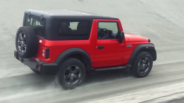 2020 Mahindra Thar Launched in India: Prices Start At Rs 9.80 Lakh