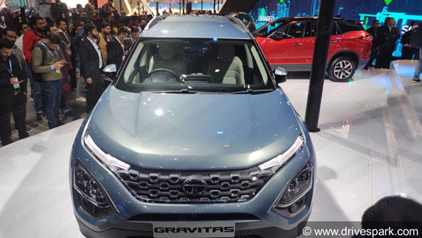 Spy Pics: Tata Gravitas Interiors Revealed While Testing Again Ahead Of Launch