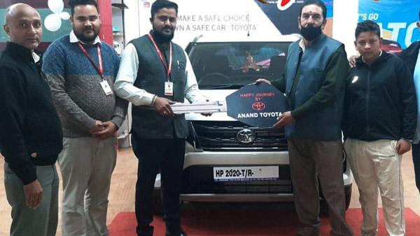 Toyota Urban Cruiser Deliveries Begin During Navaratri Across India