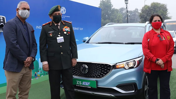 MG ZS EV Long Distance Trial Run From Delhi To Agra: Here Are All Details