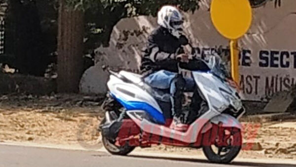 Spy Pics: Suzuki Electric Scooter Spotted Testing In India Ahead Of Possible Launch: To Be Based On Burgman Street