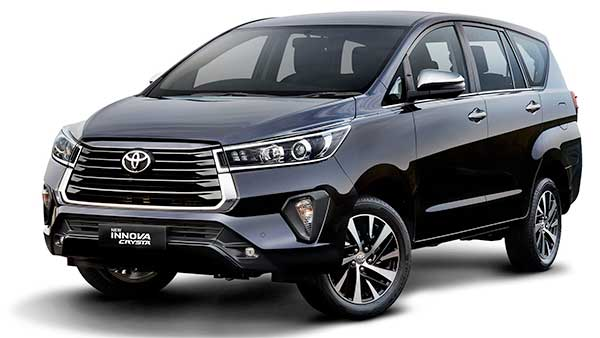 New Toyota Innova Crysta Facelift India Launch