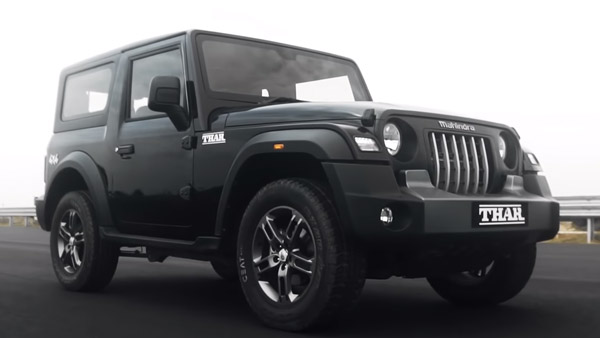 Mahindra Thar Bookings Cross 20,000 Units Milestone Mark: Waiting Period & Other Details