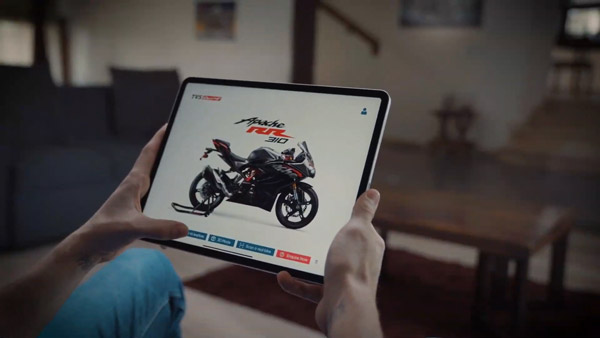 TVS ARIVE Mobile App Introduced: To Offer Customers An Augmented Reality Experience Of Their Entire Apache Series
