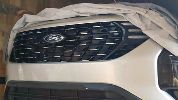 Spy Pics New Ford Suv Based On The Upcoming 2021 Mahindra Xuv500 Spied For The First Time Drivespark News