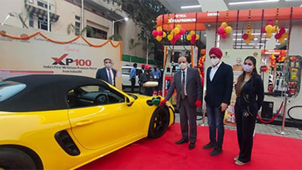 Indian Oil Launches XP100 Fuel: India's First 100 Octane Petrol