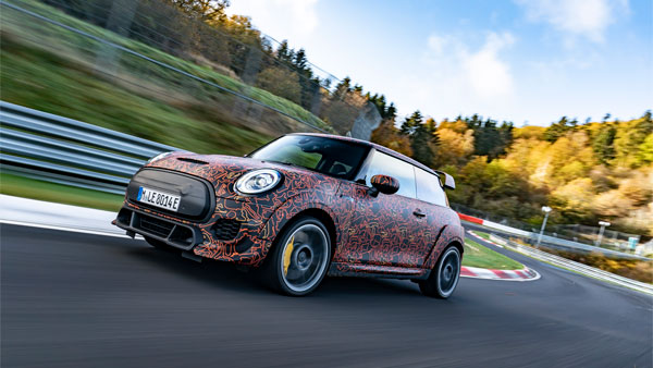 Mini Cooper John Cooper Works Electric GP Concept Breaks Cover: Specs, Performance & Other Details