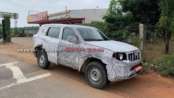 All-New Mahindra Scorpio Spotted Testing Once Again: Here's Everything You Need To Know