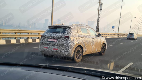 Spy Pics: Skoda Vision IN Spotted Testing In Mumbai Ahead Of India Launch