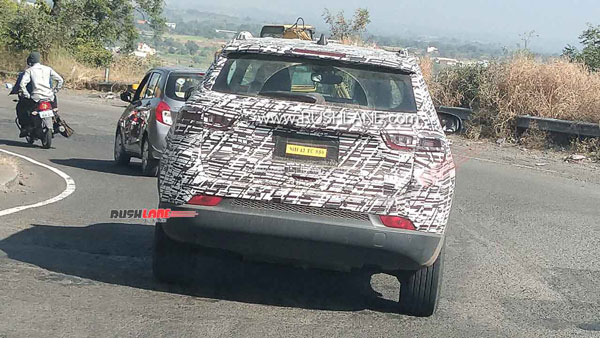 2021 Jeep Compass Facelift Spied Testing Ahead Of Launch: Spy Pics & Details