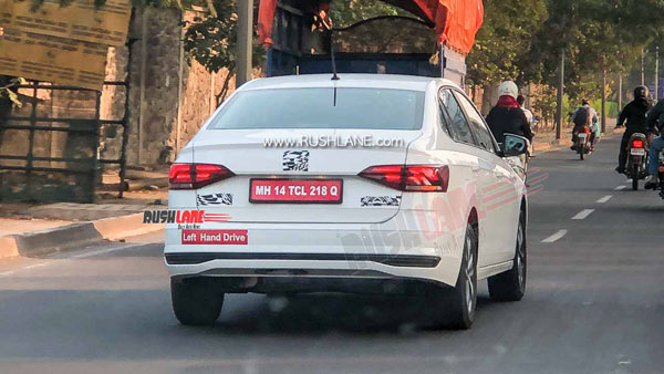 Spy Pics: Volkswagen Virtus Spotted Testing Ahead Of Expected India Launch