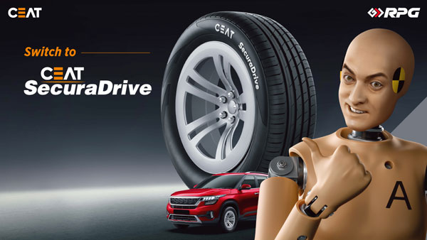 CEAT Becomes Official Tyre Partner For Nissan Magnite: SecuraDrive Model & Other Details