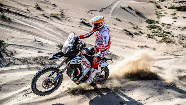 Follow stage 1 of the Dakar rally live